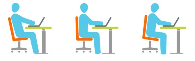 Ergonomie van de bureaustoel