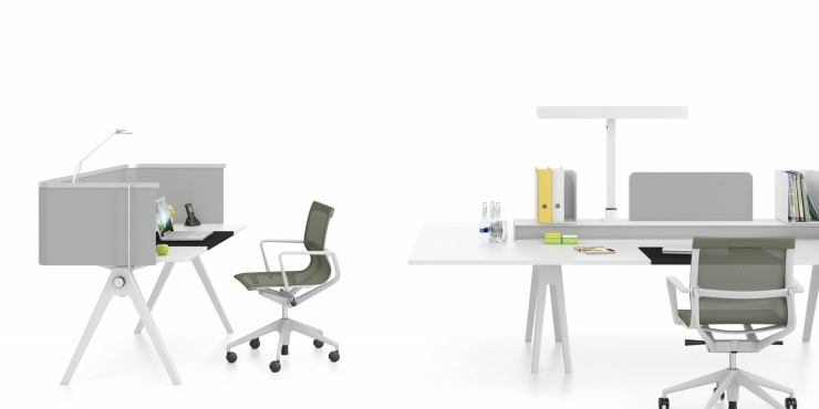 Joyn Single Desk - Vitra