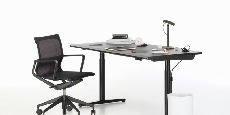 Tyde Single Desk - Vitra